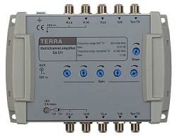 Amplifier SA 511 Terra for 5-input multiswitches