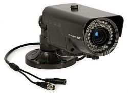 Compact CCTV Camera: n-cam 640 (600 TVL, Sony Super HAD II CCD, 0.01 lx, 4-9mm, IR up to30m)