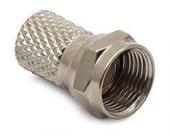 F-connector: 7.2 mm (twisted-on, nickel-plated copper) [100 pcs.]