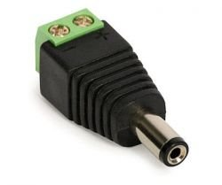 Quick-connect Plug: S-55 DC 2.1/5.5